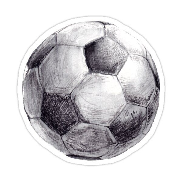 Football Watercolor Sticker In 2021 Watercolor Stickers Soccer Football Drawing
