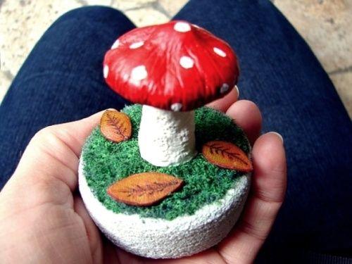 DIY / tuto champignon