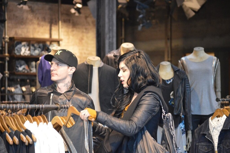 Kat Von d and deadmau5 on a date in Hollywood