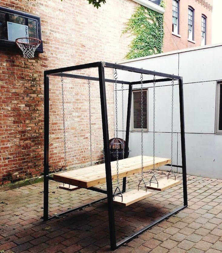 We freely admit we stumbled across Chicago-based furniture designer Ben Hanisch's work while Googling