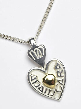 """My Soul Mate"" - Mo Anam Cara Necklace"