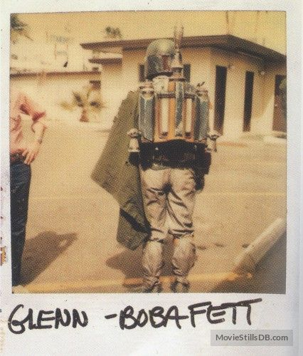 Star Wars: Episode VI - Return of the Jedi - Behind the scenes photo of Jeremy Bulloch