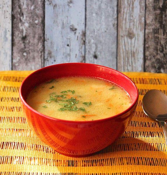 Zupa warzywna.