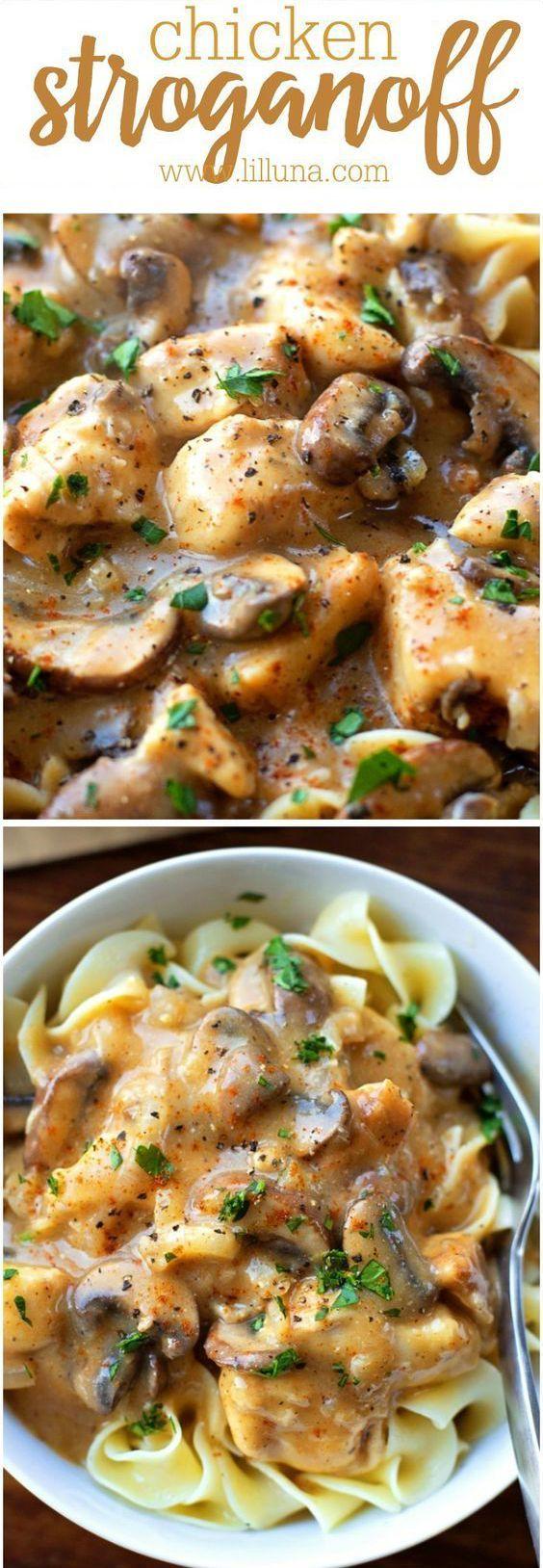 Chicken Stroganoff Healthy Recipes - food, healthy, recipes