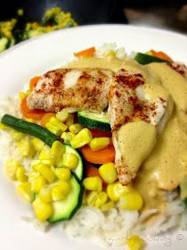 Quirky Cooking: Paprika Chicken with Creamy Paprika Sauce (an easy all-in-one Thermomix dinner)