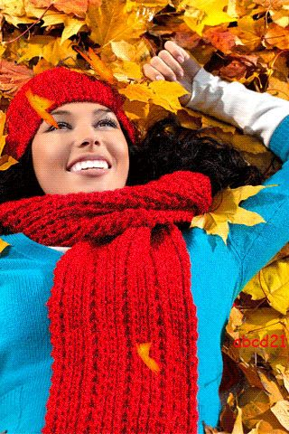 -happy autumn Mobile Screensavers available for free download.