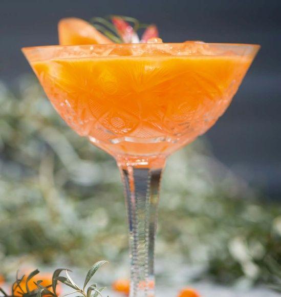 Havtorn og ingefær drik