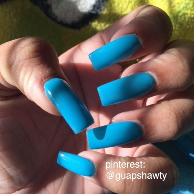 ... long square acrylic nails. See More. Check out @guapshawty ❤️ - Best 25+ Long Square Acrylic Nails Ideas On Pinterest Long