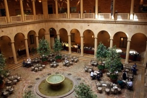Rozzelle Court, Nelson Atkins Museum Kansas City...favorite lunch spot while studying at the Art Institute