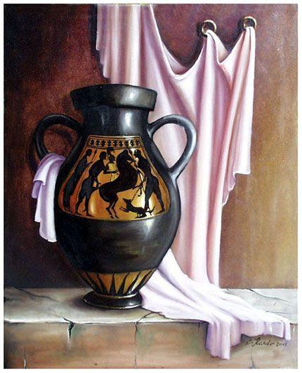 vaso greco - olio