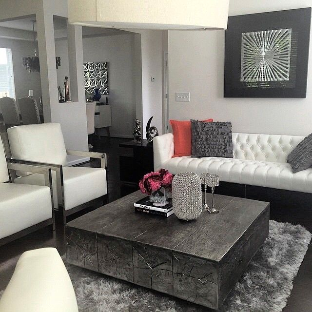 were loving the luxe lounge vibe in isabelobligacions living room styled with - Z Gallerie Living Room