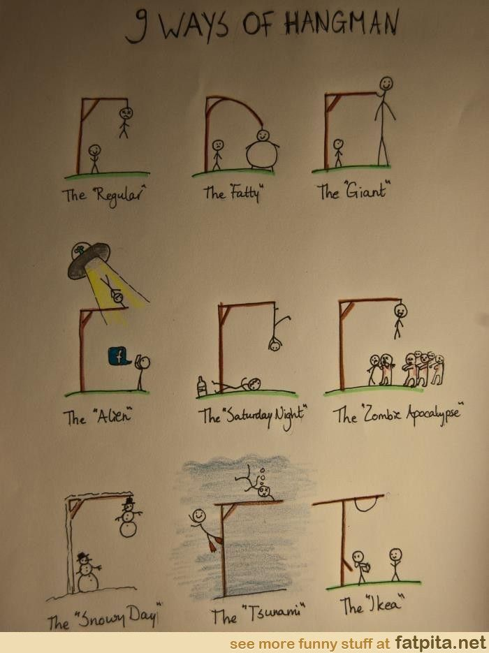 The best ways of playing hangman