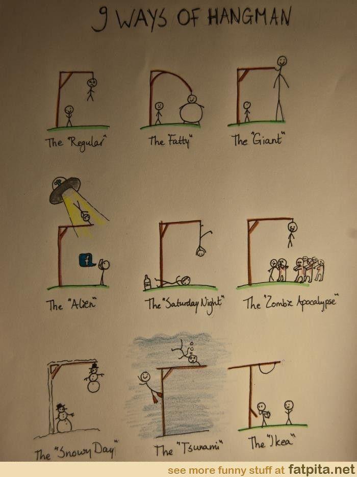 How I'm playing hangman next time.