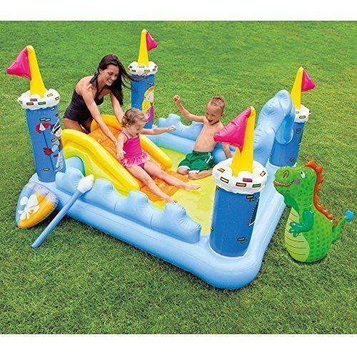 Swimming Pool Children Castle Inflatable Play Center Ages 2+ | Home & Garden, Yard, Garden & Outdoor Living, Pools & Spas | eBay!