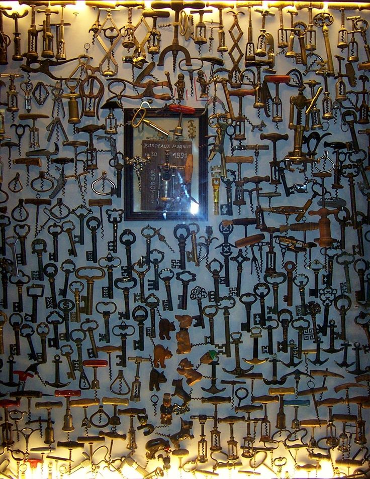 Key collection or cork screw collection?