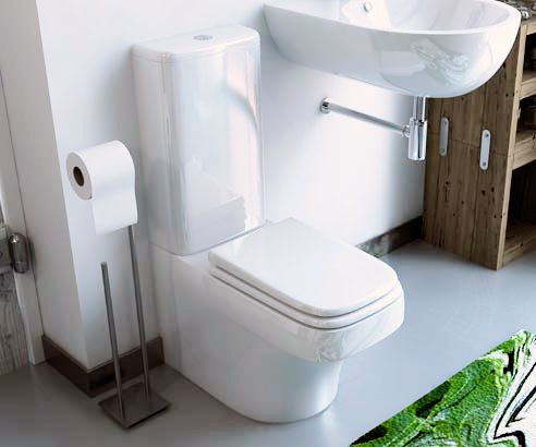 Chambers Signature Standard Close Coupled Toilet - V30171006 scene square medium