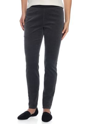 Eileen Fisher Women's Corduroy Legging - Bark - Xs