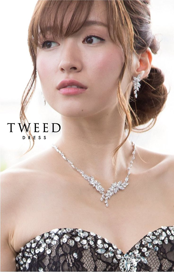 Amazon   ロングドレスにお薦め ネックレス イヤリング セット [KA-12]   ネックレス&ペンダント 通販