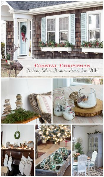 Coastal Christmas Home Tour Finding Silver Pennies