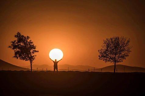 Güneş Tutulması....