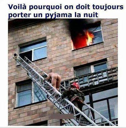 pompier !