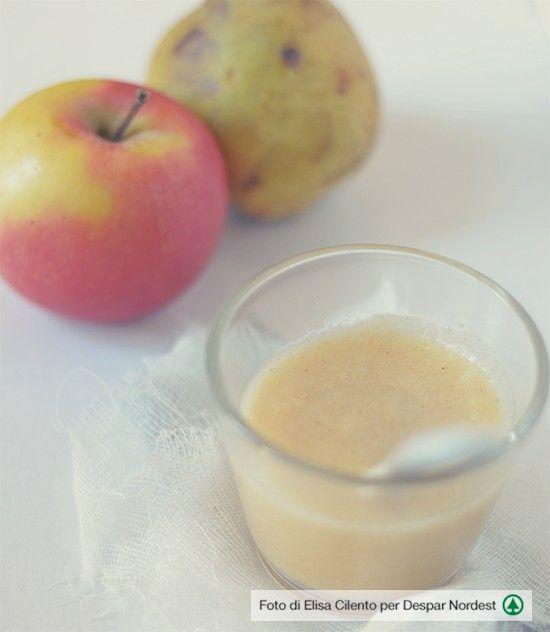 La prima merenda con pera, mela e cannella   casadivita.despar.it