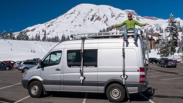 48 Best Sprinter Van Living Images On Pinterest Sprinter