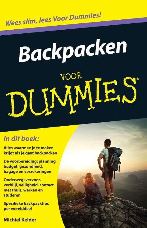 Inpakken en wegwezen! Ontdek de wereld van het backpacken. De wereld over trekken met slechts een rugzak en niets meer dan een vaag plan. Het klinkt niet erg georganiseerd, maar aan backpacken gaat wel degelijk voorbereiding vooraf. Ook onderweg moet je dagelijks keuzes maken. Backpacken voor Dummies geeft je een overzicht van alles waarmee je te maken krijgt. Eerst lees je over de organisatie vooraf en gaat 't bijvoorbeeld om planning, reisduur, geld, gezondheid en formaliteiten...