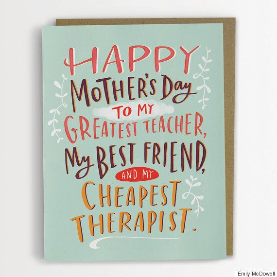 12 Mother's Day Cards For Cool Moms, Not Regular Moms