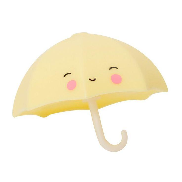 Juguete con forma de paraguas para acompañar los baños de los más pequeños. Además, se puede usar como elemento decorativo para la habitación de los niños. Cuenta con un diseño muydulce e infantil,es de colores pastel, textura suave y forma redondeada. Está fabricado en plástico resistente de excelente calidad.