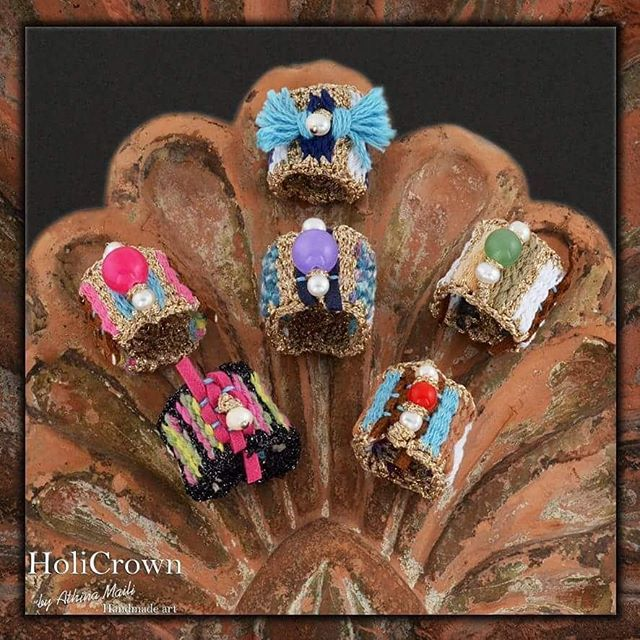 Handwoven boho rings for gypsy souls...multicolor, gold yarns and semi precious stones. #wovenrings #weaver #greekstyle #greekshop #greekdesigner #semipreciousjewelry #semipreciousstone #goldyarn#handwoven #textile#textileart#gypsystyle#bohochic#boho#bohemianstyle#handmade#handmadejewelry#loom#instashop#yfanto#bohogirl#fashionlover#accessoriesaddicted#handmadeart#leather#embroidery#crochetjewelry#knitting#feelunique#summermood
