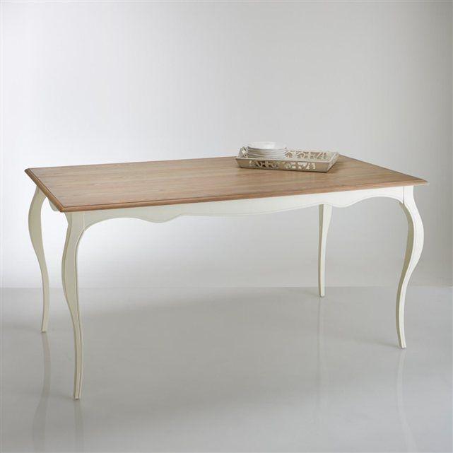 Table repas trianon 6 couverts la redoute interieurs for Table haute 6 couverts