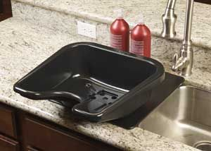 At home shampoo bowl for hairstylists. This is just great! Must have!