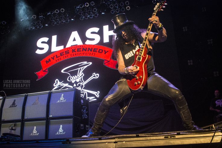 Slash and Aerosmith at Philips Arena