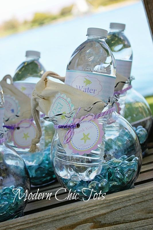 83 best under the sea mermaid party jaji 1st bday images for Plastic fish bowls dollar tree