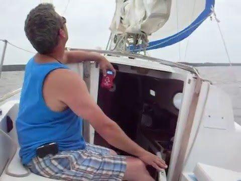 "Rob and Mike Sailing ""The Mariner"""