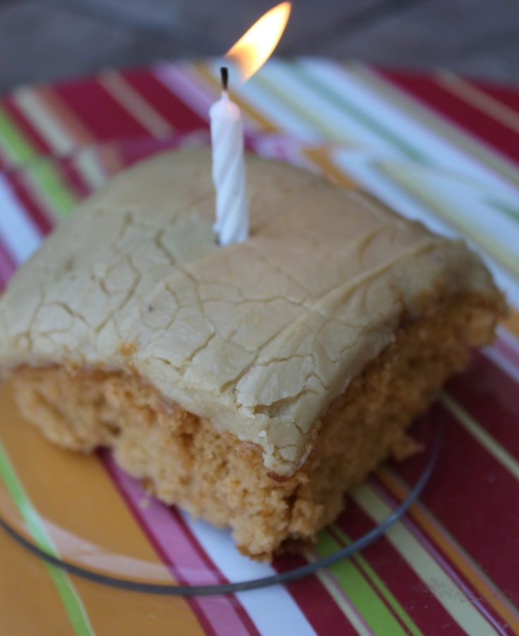 Butterscotch Dream Cake--my requested birthday cake EVERY year. The penuche caramel frosting is to die for!!  Deals to Meals: Caramel Penuch, Butterscotch Cakes, Birthday Fun, Penuch Frostings, Butterscotch Dream, Caramel Frostings, Dream Cakes, Cakes Birthday, Birthday Cakes