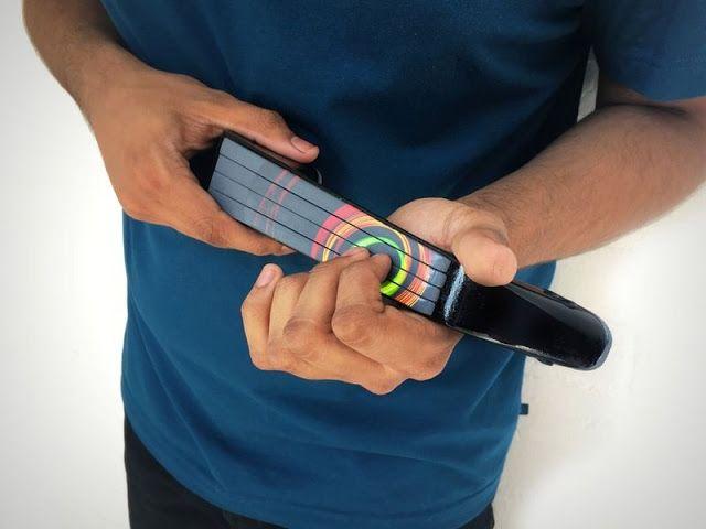 El innovador  violín eléctrico  IMI es muy diferente a otros dispositivos MIDI