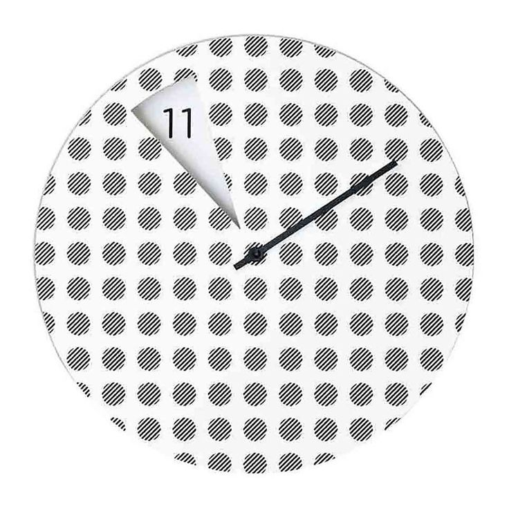 Horloge Murale Design Freakish Pois - Sabrina Fossi - Visuel 1