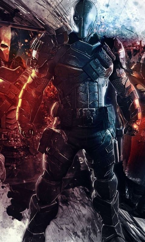 Download this Wallpaper 480x800 - Comics/Deathstroke (480x800) for all your Phones and Tablets.