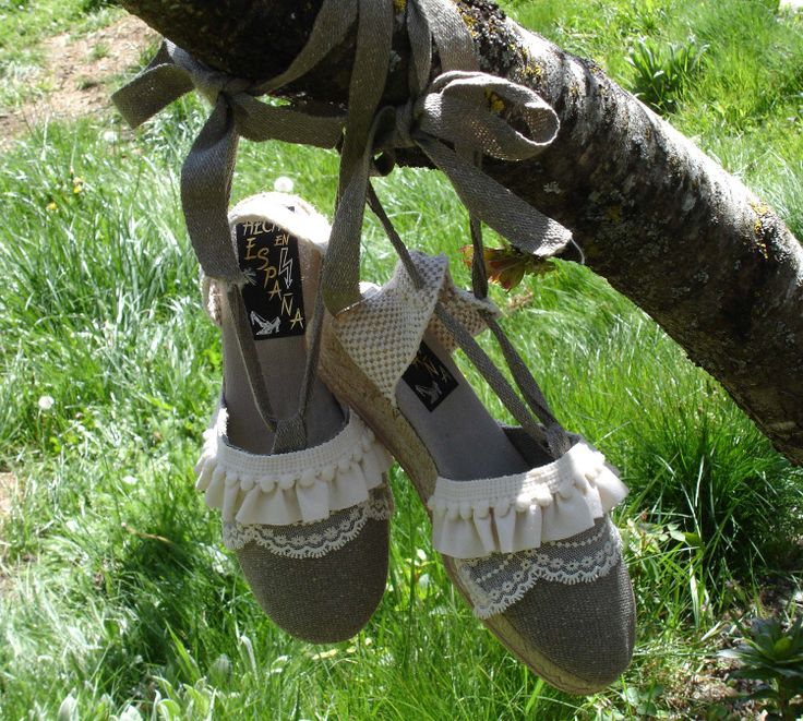 zapatillas esparto piedra
