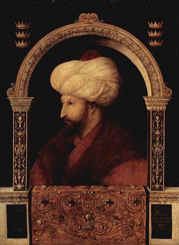 Gentile Bellini, Sultan Mehmed II  #TuscanyAgriturismoGiratola