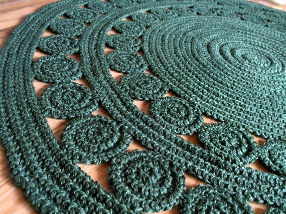 Ready to ship 4.5 ft  137 cm  Exclusive Round Rug by by GreatHome