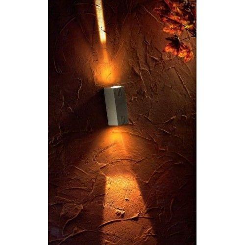 PAN INTERNATIONAL SIBILLA - LAMPADA DA PARETE LED BIEMISSIONE