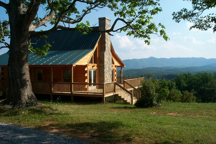Book one of these beautiful cabins for a summer vacation that will make you fall in love with the mountains of Virginia.