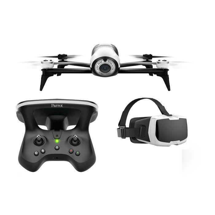 Parrot Drone Bebop 2 avec pack FPV Blanc à 699 EUR sur lick.fr