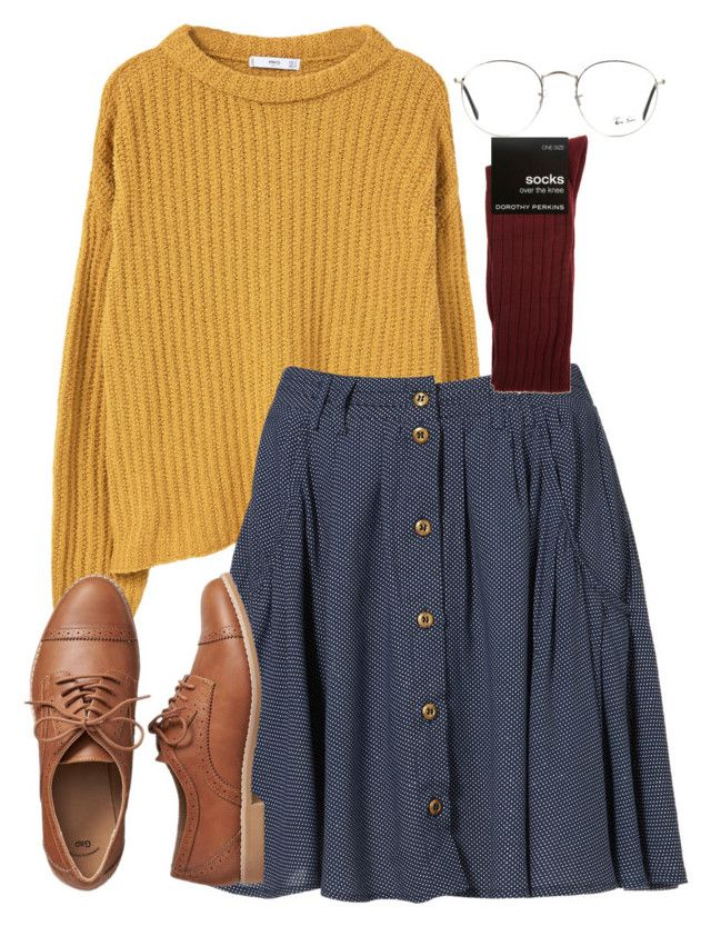 """""""9:27"""" by black-and-white-hipster ❤ liked on Polyvore featuring MANGO, Ray-Ban, Gap, Dorothy Perkins, StreetStyle, Hipster, cozy and falltrend"""
