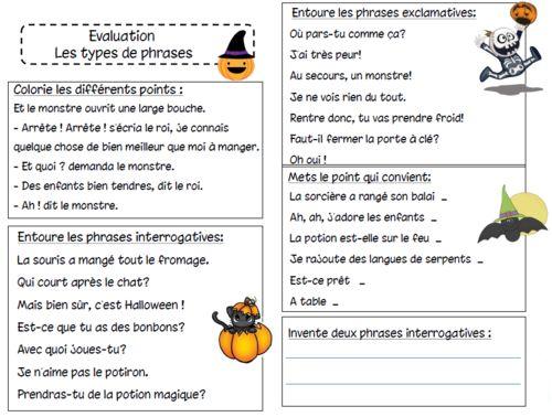 Compétences attendues : - Trouver les différents points dune phrase - Différencier les phrases...