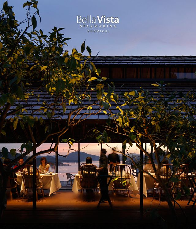 Bella Vista スパ&マリーナ 尾道   広島県・瀬戸内を望む極上のリゾートホテル