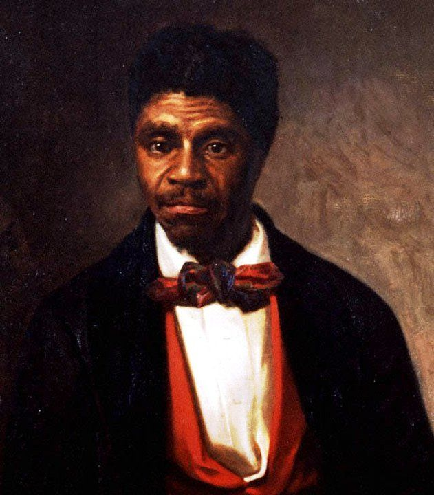 Dred Scott was an Black American slave who sued unsuccessfully for his freedom in the Dred Scott v. Sandford case of 1857. Scott based his case on the fact that although he and his wife Harriet were slaves, he had lived with his master Dr. John Emerson in states and territories where slavery was illegal according to both state laws and the Northwest Ordinance of 1787, to include Illinois and Minnesota.